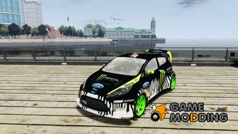 Ken Block Ford Fiesta 2011 for GTA 4