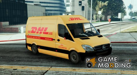 Mecedes Sprinter 311 CDI Cargo Van + 5 Extras for GTA 5