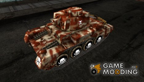 Шкурка для PzKpfw 38 na for World of Tanks