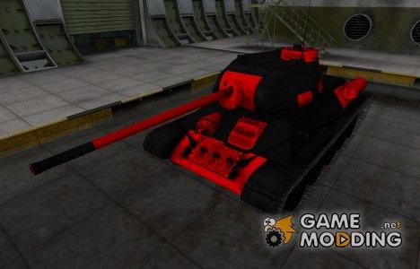 Черно-красные зоны пробития Т-34-85 для World of Tanks