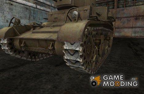 Замена гусениц для M2-Lt, M4 Sherman