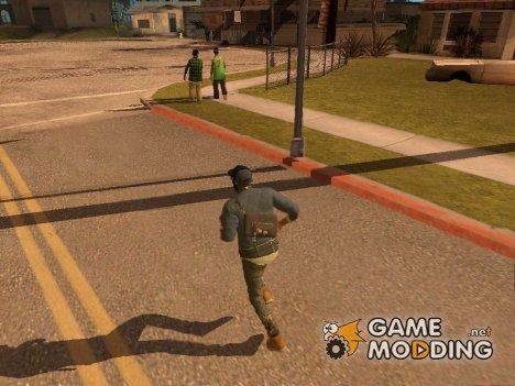 Анимации из Watch Dogs 2 (2017) for GTA San Andreas