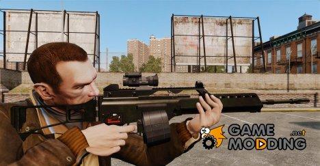 Штурмовая винтовка H&K MG36 v3 for GTA 4