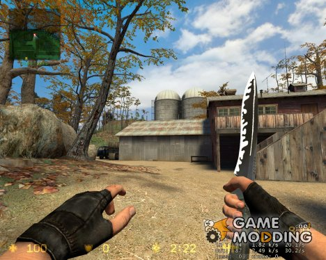Knife New Texture for Counter-Strike Source