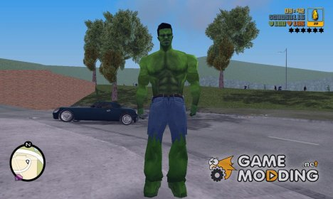 Hulk for GTA 3