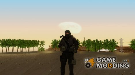 Modern Warfare 2 Soldier 14 for GTA San Andreas