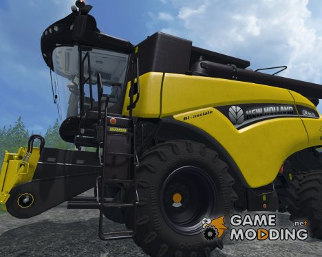 New Holland CR 90.75 Yellow Bull для Farming Simulator 2015