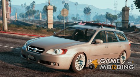 Subaru Legacy Touring Wagon BP5 for GTA 5