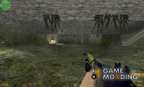 green galil retexture для Counter-Strike 1.6