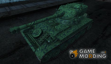 Шкурка для AMX 13 75 №8 для World of Tanks