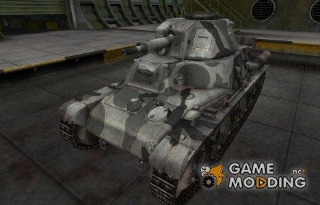 Шкурка для немецкого танка PzKpfw 38H 735 (f) for World of Tanks