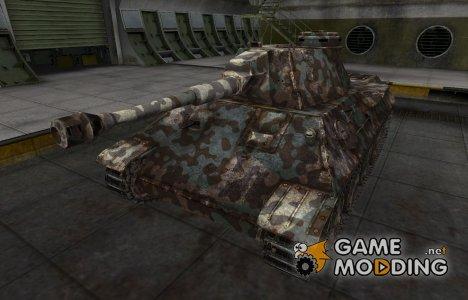 Горный камуфляж для VK 30.02 (D) for World of Tanks