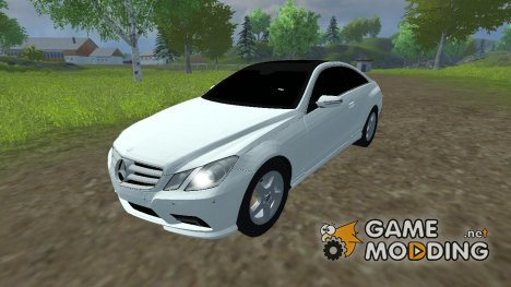 Mercedes-Benz E-class coupe for Farming Simulator 2013