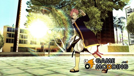 Natsu Dragneel (Fairy Tail) for GTA San Andreas