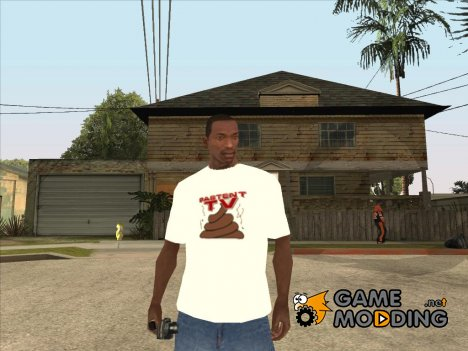 Футболка Pastent tv for GTA San Andreas