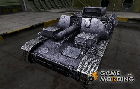 Темный скин для Sturmpanzer II для World of Tanks