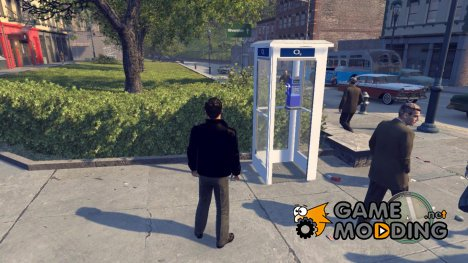 "Телефонная будка ""02"" для Mafia II"