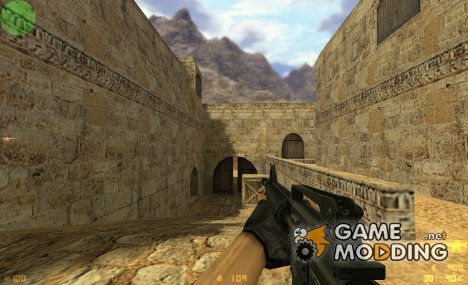 EMDG M4A1 On Evil Ice anims для Counter-Strike 1.6