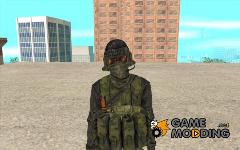 Скин из Battlefield 3 for GTA San Andreas