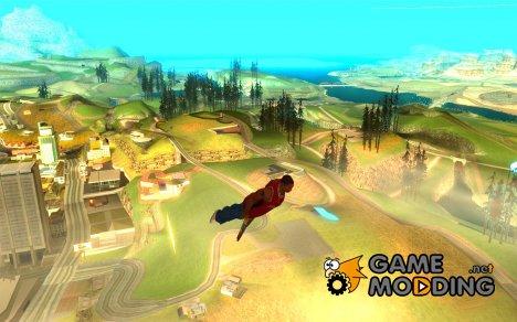 FLY men - CJ будет круче супермена для GTA San Andreas