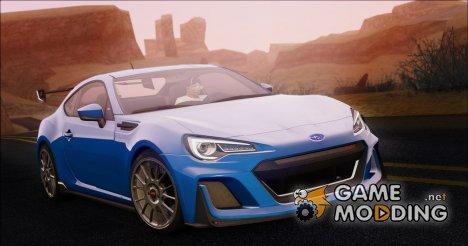 2016 Subaru BRZ STi Concept for GTA San Andreas