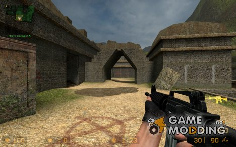 Colt M4A1 Perfection Skin v.1 by naYt для Counter-Strike Source