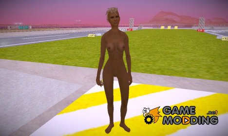 Skyrim Jessi Barbarous Beauty v3 Nude for GTA San Andreas