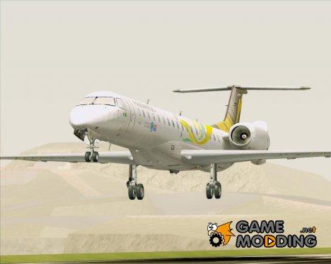Embraer ERJ-145 Passaredo Linhas Aereas (PR-PSI) для GTA San Andreas