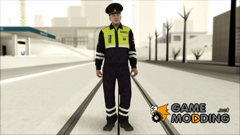 Сотрудник ГИБДД для GTA San Andreas