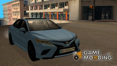 Toyota Camry 2018 for GTA San Andreas