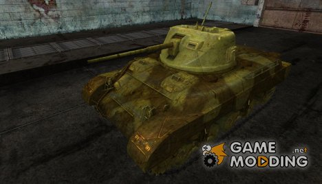 Шкурка для M7 Med for World of Tanks
