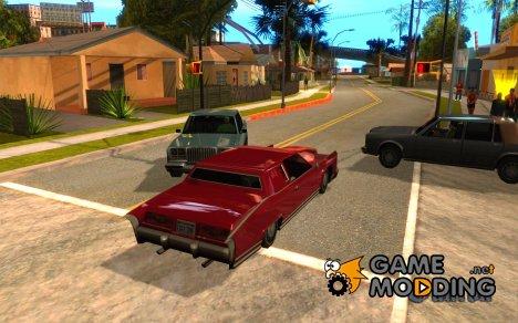 Садимся пассажиром в любую тачку for GTA San Andreas