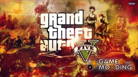 Loading screen GTA 5 HD для GTA San Andreas