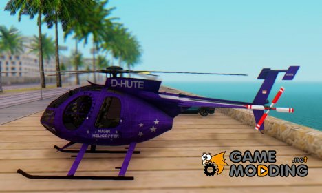 Helicopter MD500E PJ1 for GTA San Andreas