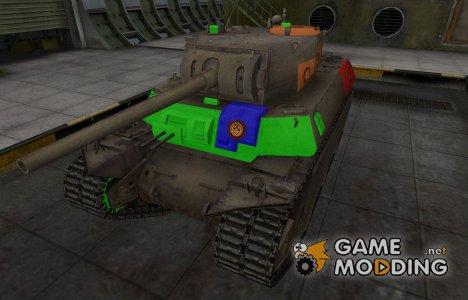Качественный скин для M6 for World of Tanks