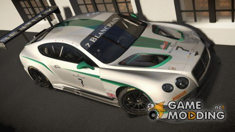 2014 Bentley Continental GT3 для GTA 4