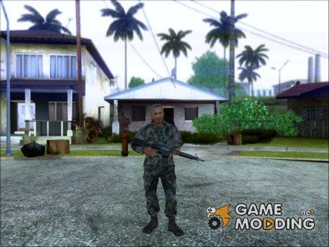 Генерал Чжао, конверт из CoD: BO2 для GTA San Andreas