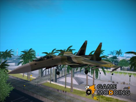 "Su-37 ""Gelb Team"" for GTA San Andreas"