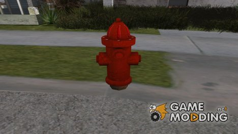 Fire Hydrant for GTA San Andreas