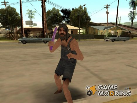 Неадекватный пед для GTA San Andreas