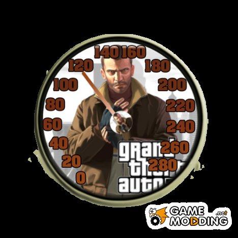 Speedometer NiKo для GTA San Andreas