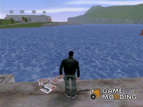 Новая светлая вода for GTA 3