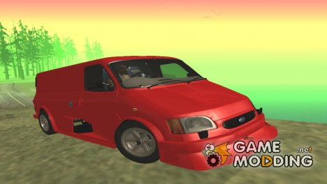 Ford Transit Supervan 3 Custom для GTA San Andreas