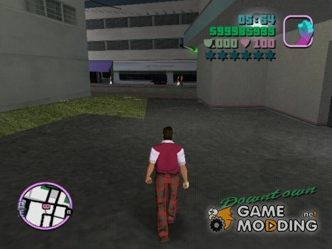 Ходьба для GTA Vice City