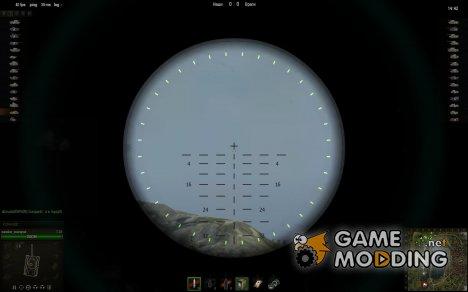 Снайперский прицел Telescope M70F для World of Tanks