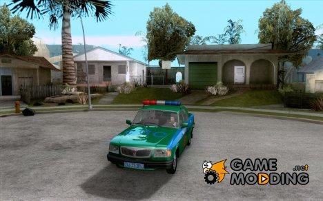 ГАЗ 3110 Милиция for GTA San Andreas