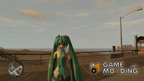 Miku Hatsune for GTA 4