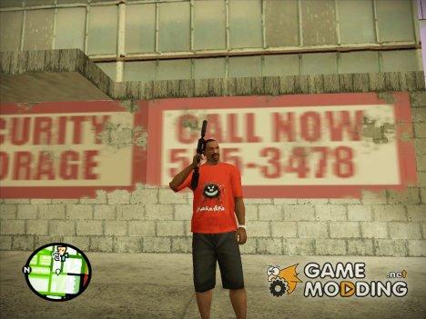 Футболка Бабайка для GTA San Andreas