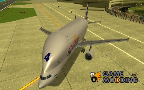 Airbus A300-600ST Beluga for GTA San Andreas