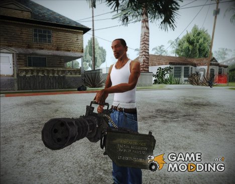 Minigun update for GTA San Andreas